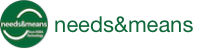 Needs & Means logo